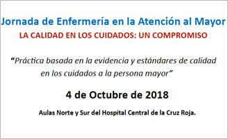 geriatricarea Enfermería Atención al Mayor Hospital Central de la Cruz Roja