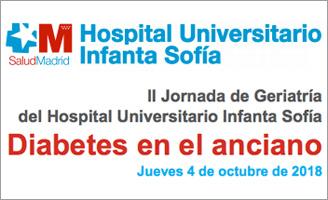 geriatricarea Jornada Geriatría Hospital Infanta Sofía Diabetes en el anciano