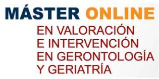 Nueva edición del Máster online en Valoracióne Intervención en Gerontología y Geriatría de la Universidad de A Coruña