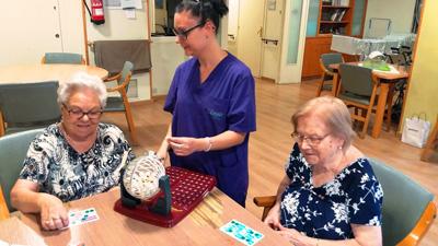 geriatricarea bingo mayores L'Onada Serveis