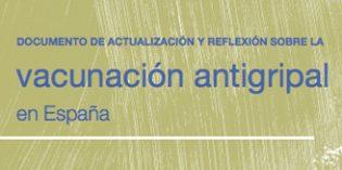 Documento de Actualización y reflexión sobre la vacunación antigripal en España