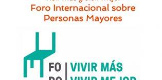 """Valencia acogerá el25 de septiembre el II Foro Internacional """"Vivir más y vivir mejor"""""""