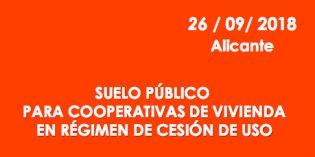 El Cohosuing, protagonista de una jornada que organiza FECOVI en Alicante