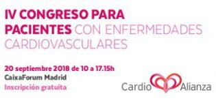 Madrid acogerá el IV Congreso de Cardioalianza para pacientes con enfermedades cardiovasculares
