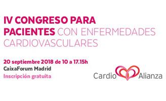 geriatricarea Congreso para pacientes con enfermedades cardiovasculares de Cardioalianza