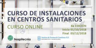 Nueva edición del Curso online de instalaciones en centros sanitarios de Hospitecnia