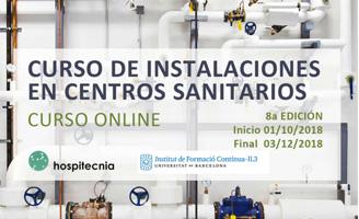 geriatricarea Curso online instalaciones centros sanitarios Hospitecnia