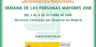 El Imserso organiza la Semana de las personas mayores