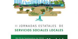 Más de 400 profesionales se darán cita en las II Jornadas de Servicios Sociales Locales