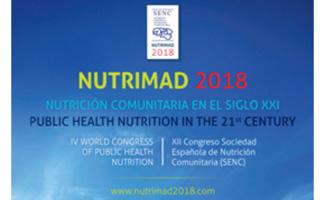 geriatricarea Nutrición Comunitaria NUTRIMAD 2018