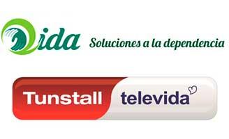 geriatricarea Tunstall Televida QIDA atención sociosanitaria domiciliaria