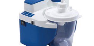 Vacu-Aide QSU, un silencioso dispositivo portátil de succión para el despeje de las vías respiratorias