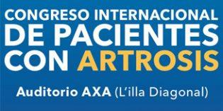 La OAFI celebra en Barcelona el II Congreso Internacional de Pacientes con Artrosis