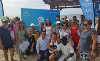 geriatricarea playa del Carmen de Barbate accesible