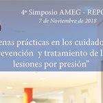El IV Simposio AMEG-Repose aborda las Buenas Prácticas en la prevención y tratamiento de lesiones por presión
