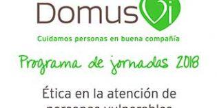 DomusVi debate sobre la ética en la atención a las personas vulnerables