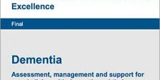 El NICE elabora una guía de evaluación, tratamiento y apoyo a las personas con demencia y sus cuidadores