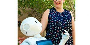 Pharos, un robot interactivo que ayuda a los mayores a hacer ejercicio en su propio hogar