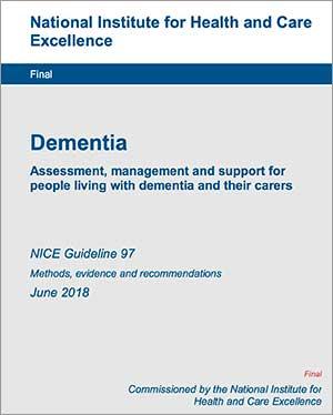 geriatricarea demencia NICE