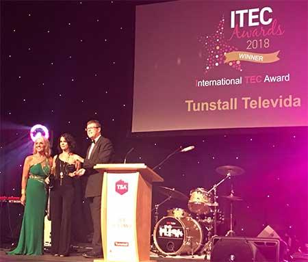 geriatriicarea Tunstall Televida Premio ITEC