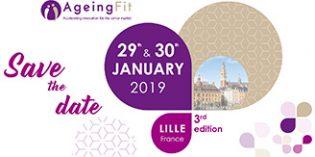 La tercera edición de AgeingFit tendrá lugar el 29 y 30 de enero en Lille