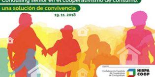 """Jornada """"Cohousing senior en el cooperativismo de consumo: una solución de convivencia"""""""
