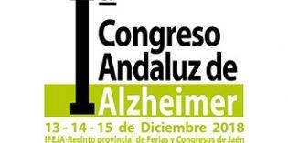El I Congreso Andaluz de Alzheimer  tendrá lugar en Jaén del 13 al 15 de diciembre