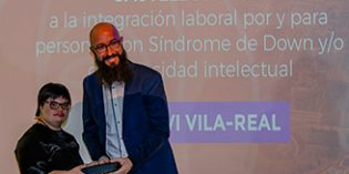 La residencia DomusVi Vila-Real  distinguida como 'empresa integradora' en los II Premios Síndrome de Down Castellón