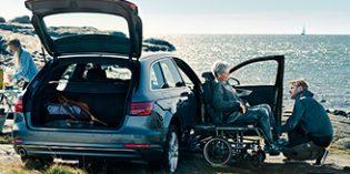 El sistema Carony permite pasar de la silla de ruedas al asiento del coche sin necesidad de transferencias