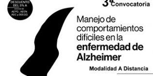 Un curso a distancia aborda el manejo de comportamientos difíciles en la enfermedad de Alzheimer