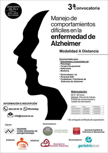 geriatricarea curso Alzheimer