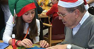 Amavir celebra sus primeros campamentos intergeneracionales de Navidad