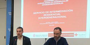 El Gobierno de Navarra y Cruz Roja ponen en marcha un proyecto pionero de alojamiento intergeneracional