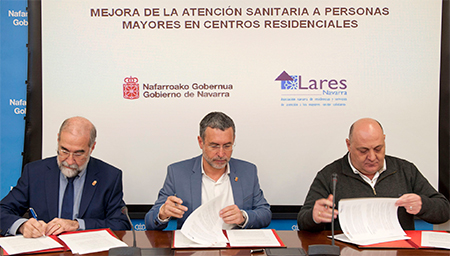 geriatricarea atencion sanitaria en Navarra Lares