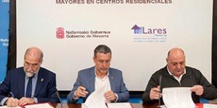 El Gobierno de Navarra y Lares desarrollán un Plan de mejora de la atención sanitaria en residencias