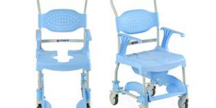 La silla de ducha MOEM facilita la higiene de personas con movilidad reducida