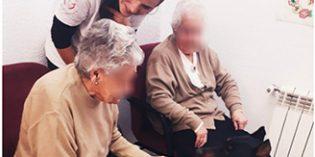 'Emociones que dejan huella', un programa de terapia asistida con animales para combatir el Alzheimer