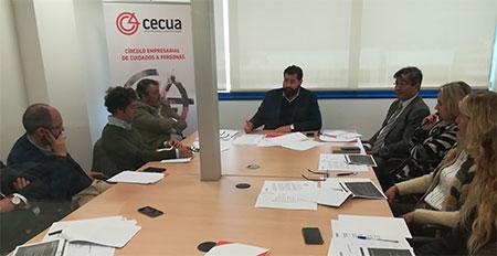 geriatricarea CECUA dependencia
