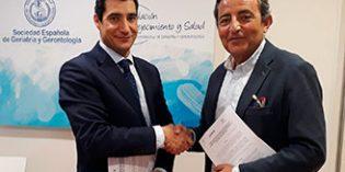 La Sociedad Española de Geriatría y Gerontología  suscribe acuerdos con AENOR y FINUT
