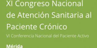 Merida, sede del XI Congreso Nacional de Atención Sanitaria al Paciente Crónico