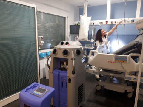 geriatricarea desinfeccion hospitalaria