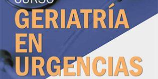 El 29 y 30 de marzo se celebrará el Curso Nacional de Geriatría en Urgencias