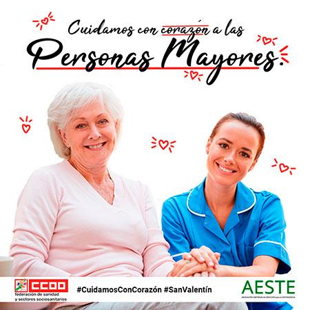 geriatricarea gerocultoras AESTE CCOO