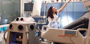 La desinfección con vaporización de peróxido de hidrógeno reduce el riesgo de infección nosocomial