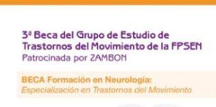 Zambon y la SEN convocan la 3ª edición de la beca de especialización en Trastornos del Movimiento