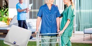 El sistema de monitorización D-POS II permite la atención integral a residentes de centros geriátricos