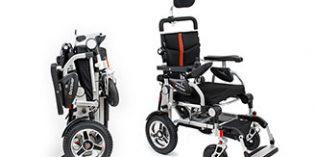 I-Discover, una silla ultraligera plegable que se adapta a las necesidades de cada usuario