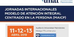"""Fundación Pilares presente en las """"Jornadas internacionales sobre el Modelo de Atención Integral y Centrada en la Persona (MAIP)"""" de Buenos Aires"""
