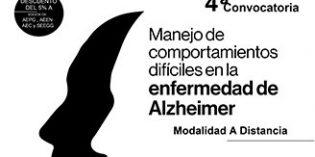 Cuarta edición del curso Manejo de comportamientos difíciles en la enfermedad de Alzheimer