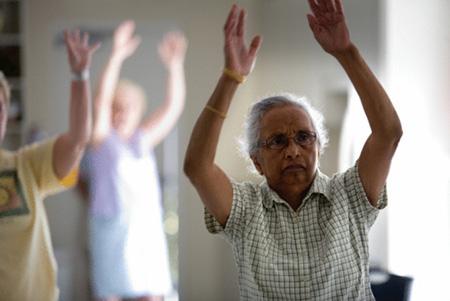 geriatricarea ejercicio fisico adaptado siel bleu